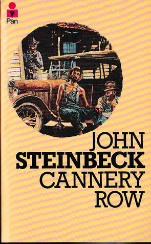 Picture of cannery Row book cover
