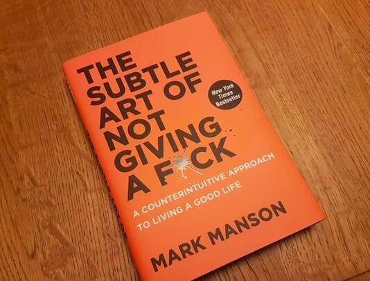 Book Cover of The Sutble Art of Not Giving a F