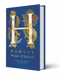 Book Cover Maggie O'Farrell's Hamnet