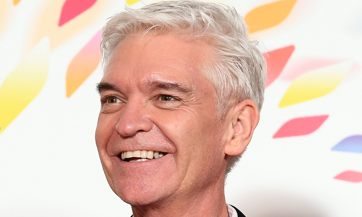 Phillip Schofield on Hello Magazine