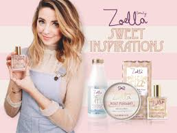 Zoella advertising products